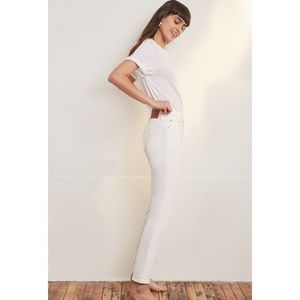 LEVI'S 501 Skinny Jean White In The Clouds Size 30